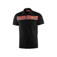 P�nsk� polo Ferrari Striped �ern�